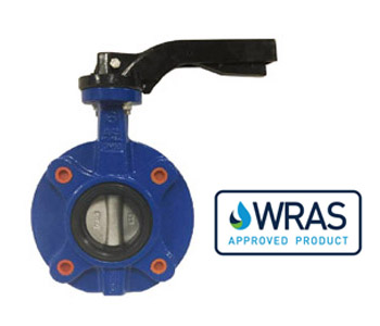 VIP PN16 Fully Lugged Butterfly Valve, Hand Lever Operation